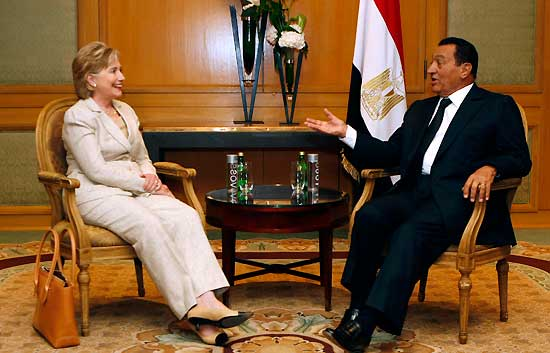 Mubarak visita a Obama