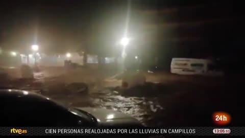 Muere un bombero en las inundaciones que afectan a la provincia de Málaga