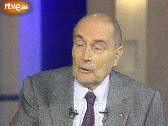 Muere François Mitterrand (1996)