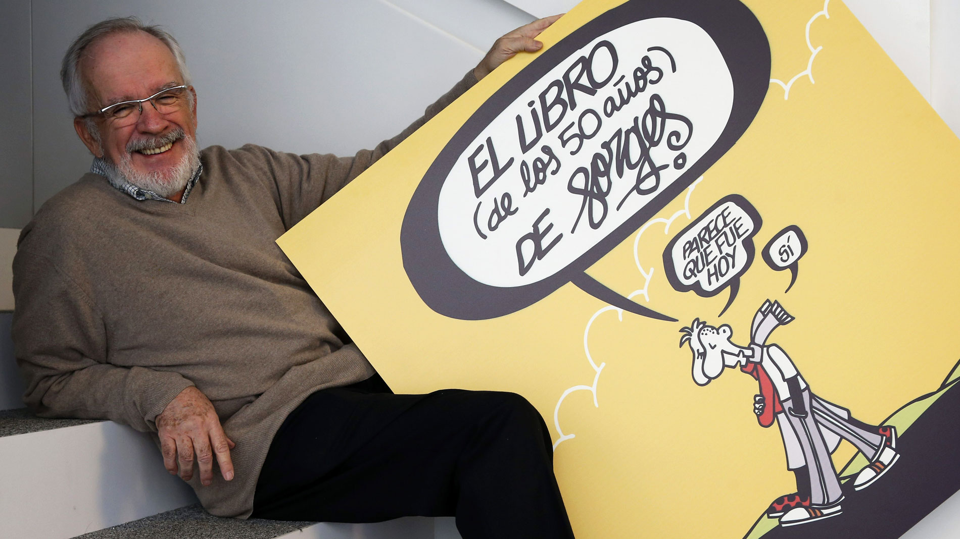 Muere el humorista gráfico Antonio Fraguas, 'Forges'