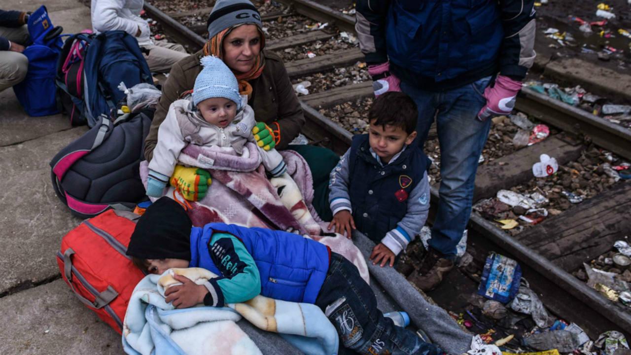 Las mujeres y los niños, los más vulnerables del fenómeno migratorio