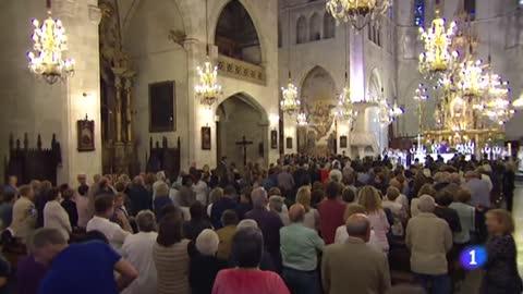 Multitudinario funeral por las 13 víctimas de la riada de Mallorca