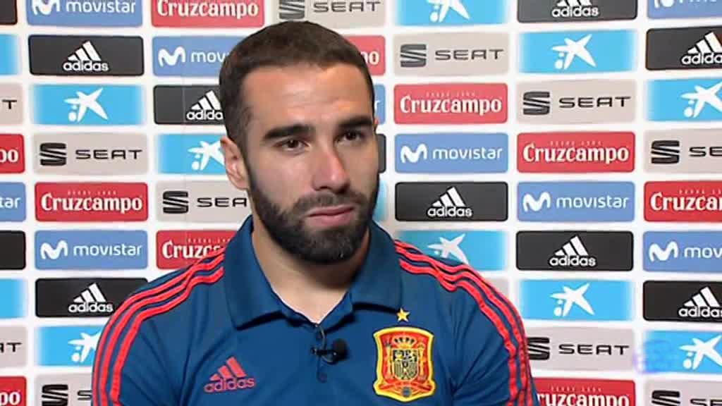 """Mundial 2018. Carvajal: """"Lopetegui me parece el mejor entrenador que he tenido"""""""