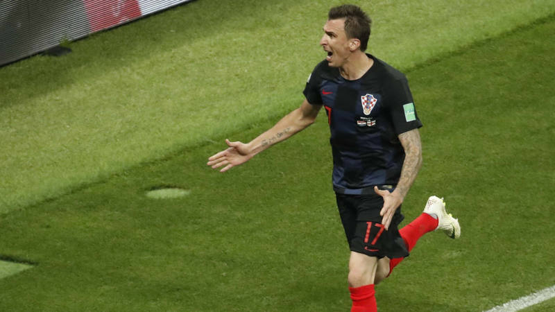 Resultado de imagen de Croacia logra una remontada histórica hacia su primera final de un Mundial