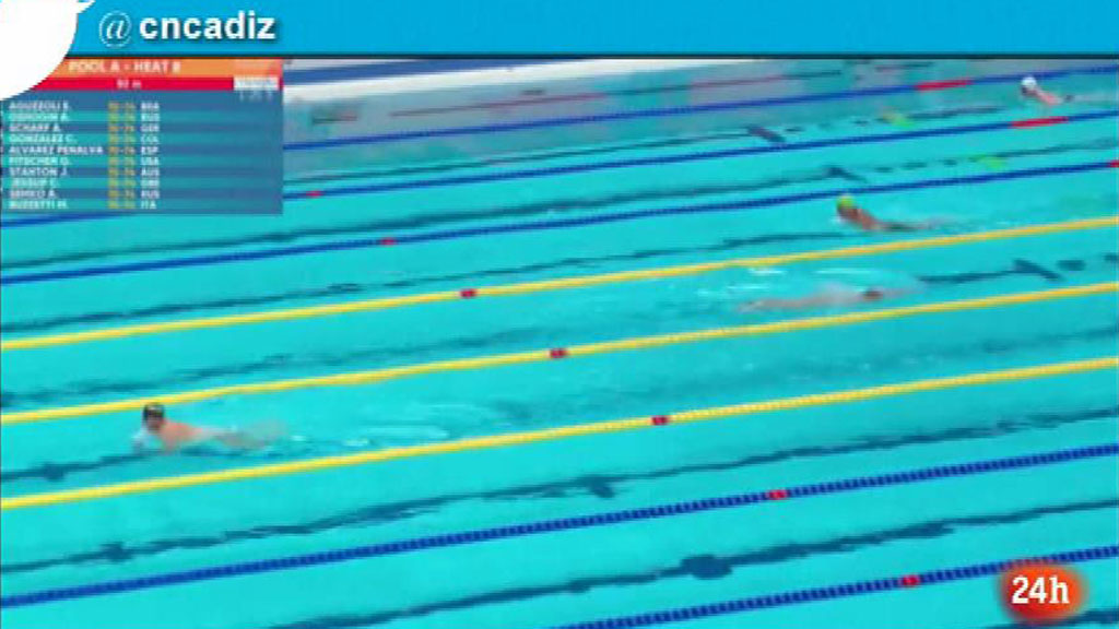 Un nadador español no compite en una prueba tras ser rechazada su petición de guardar un minuto de silencio por las vícitmas en Cataluña