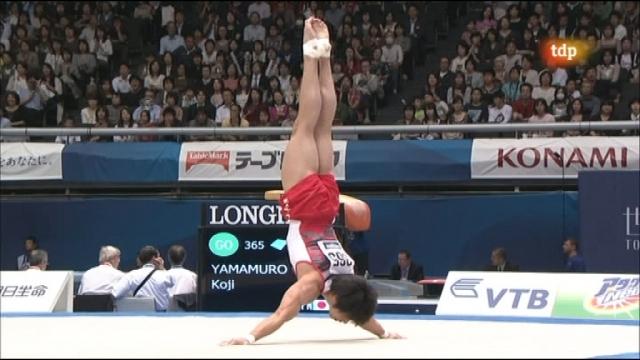 Gimnasia artística - Campeonato del mundo. Concurso completo masculino - Primera parte - 14/10/11