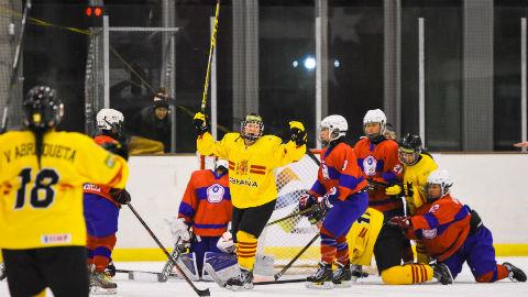 Mundial de Hockey femenino de Valdemoro. España-Chinese Taipei. 21 de marzo
