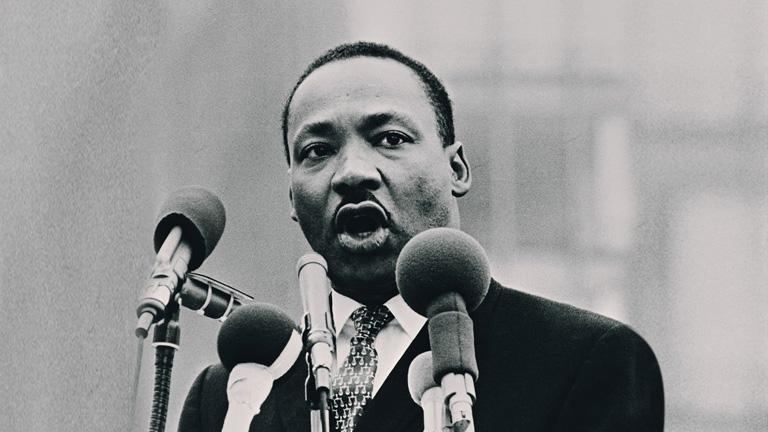 Un mundo feliz - Martin Luther King (1983)