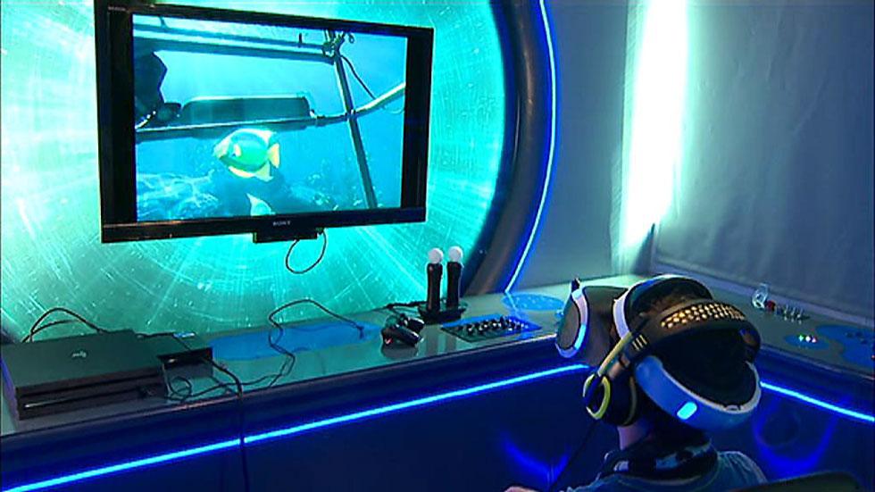 Un mundo de realidad virtual en el Hospital 12 de Octubre para ayudar a los niños