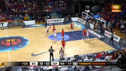 Mundobasket 2018 | Bélgica arrebata el liderato a España en el último segundo