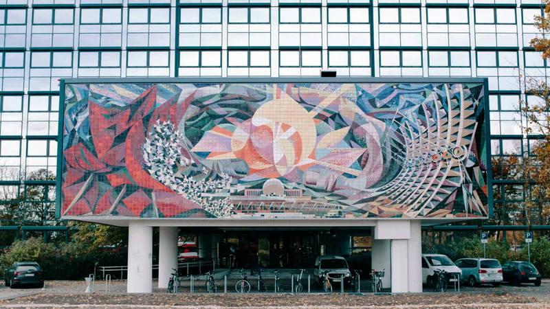 Un mural en Berlín creado por Josep Renau