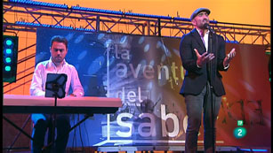 La Aventura del Saber. Entrevista y actuación de Javier Botella