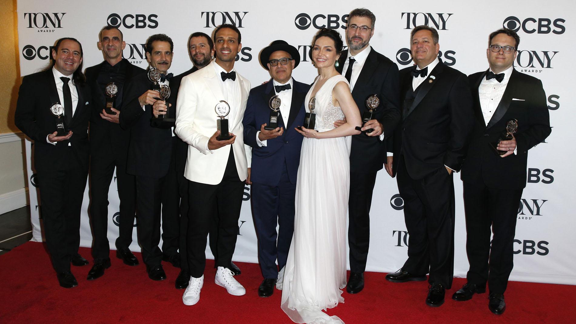 El musical independiente 'The Band's Visit' arrasa en los premios Tony