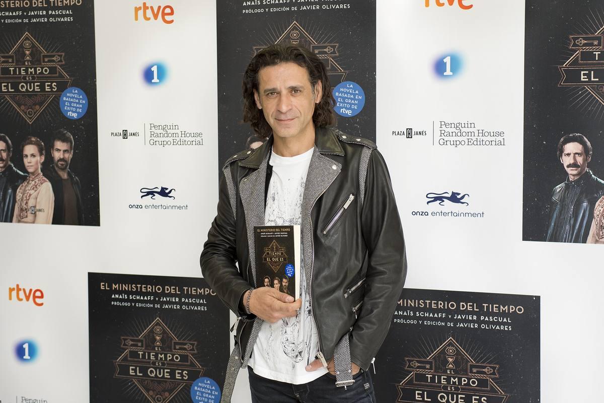 Nacho Fresneda en la presentación de la novela