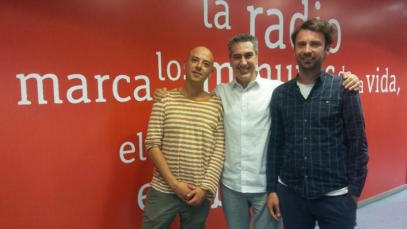 Nacho Rodríguez y Daniel Fernández, dos de los responsables de Sala Equis