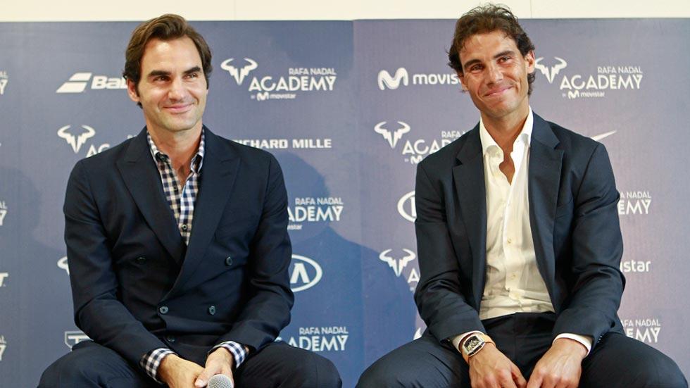 """Nadal dice que Federer y él """"volverán"""" a jugar """"partidos importantes"""""""