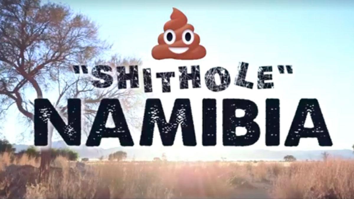 """Namibia responde a Trump con un vídeo turístico viral: """"Nos gustaría invitarles a nuestro país de mierda"""""""