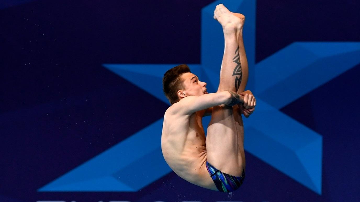 European Sports Championships 2018 - Natación Saltos Final 10M Masculino