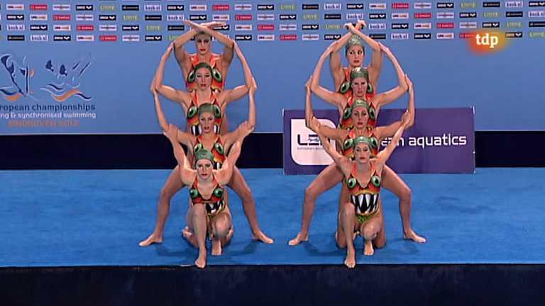 Natación sincronizada - Campeonato de Europa. Final libre equipos - 26/05/12