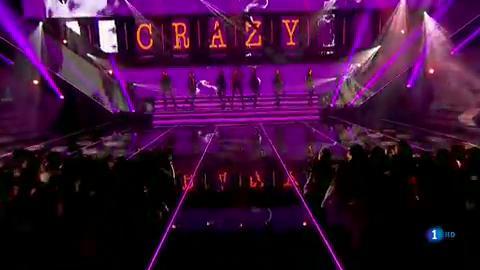 """OT 2018 - Natalia canta """"Crazy"""" en la gala final"""