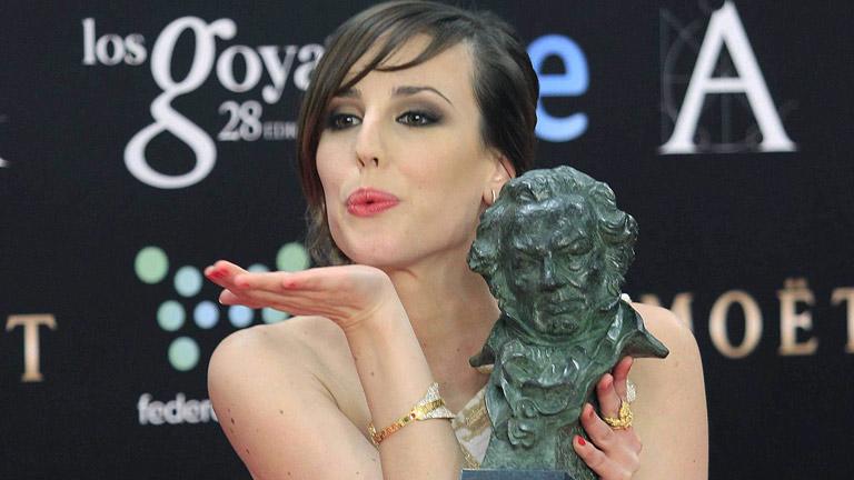 Natalia de Molina, Goya a la mejor actriz revelación por 'Vivir es fácil con los ojos cerrados'