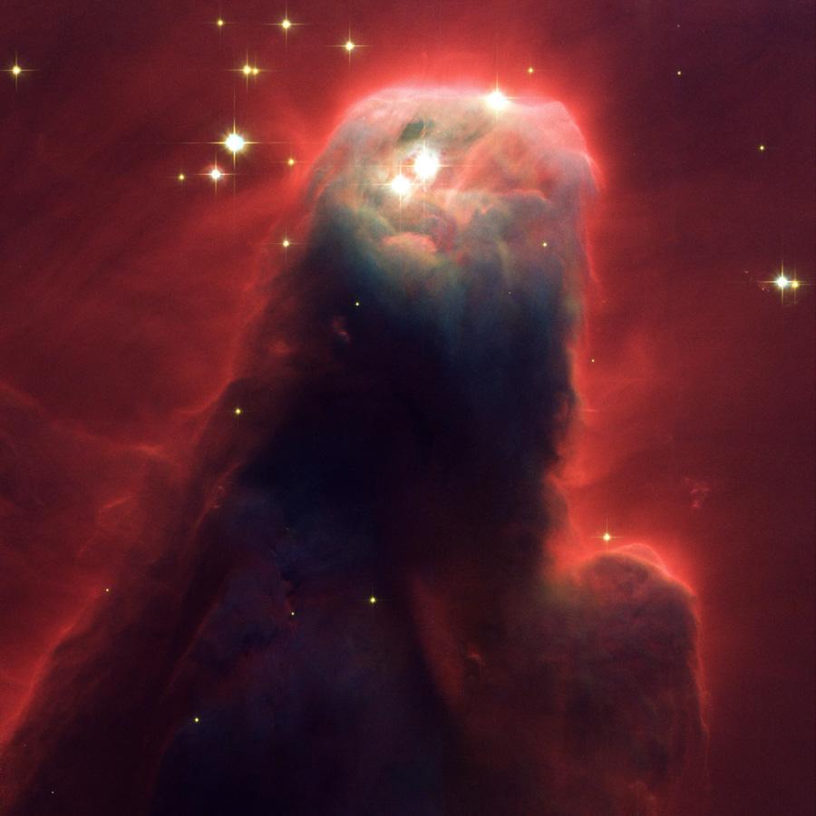 La Nebulosa del Cono, vista de cerca