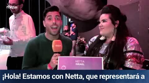 """Eurovisión 2018 - Netta (Israel): """"'Toy' es un mensaje en contra de los abusones. Ellos son los gallinas"""""""