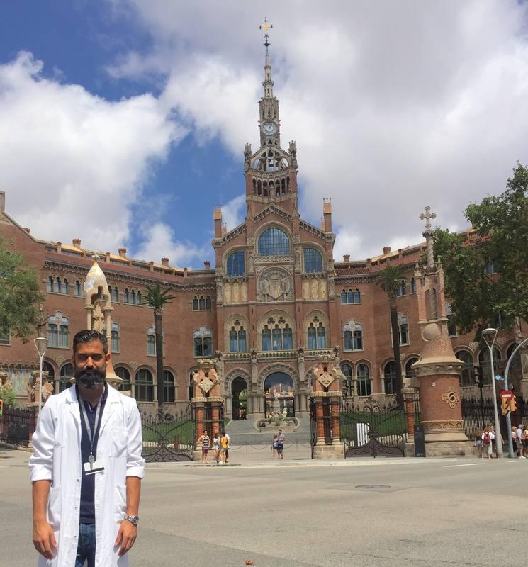 El neurólogo Jesús Pérez