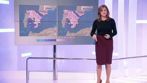 Nevadas en Cantábrico y Pirineos y descenso temperaturas en general