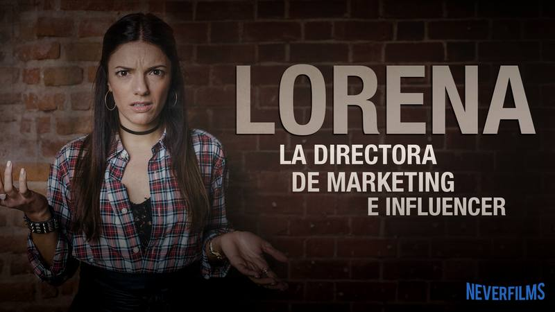 Neverfilms - Sabrina Praga es Lorena