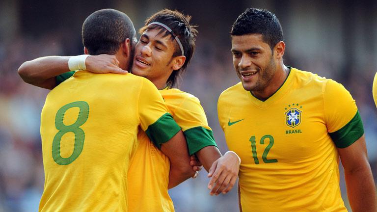 Neymar guía a Brasil hacia la victoria ante Reino Unido