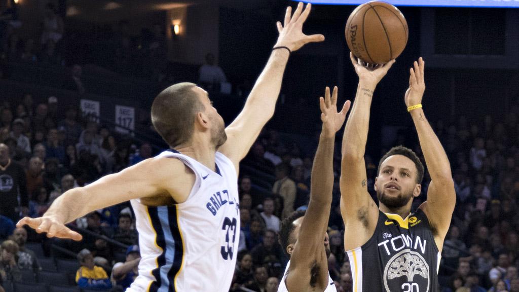 Ni el mejor Marc Gasol puede con los Warriors de Curry