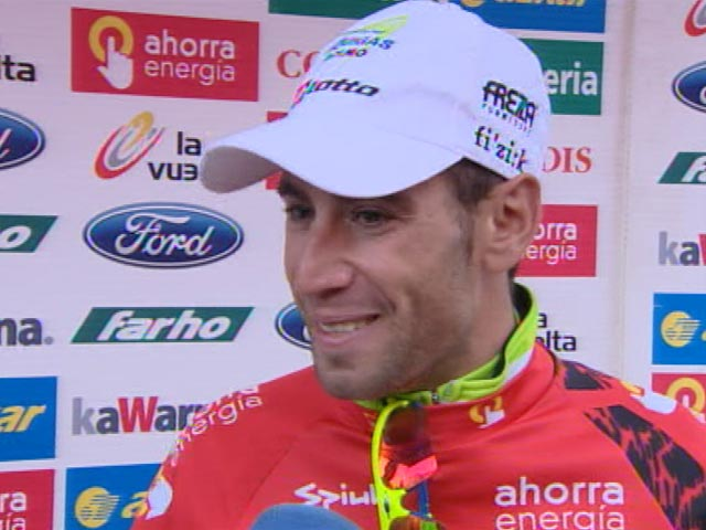 """Nibali: """"Ha sido una Vuelta preciosa"""""""