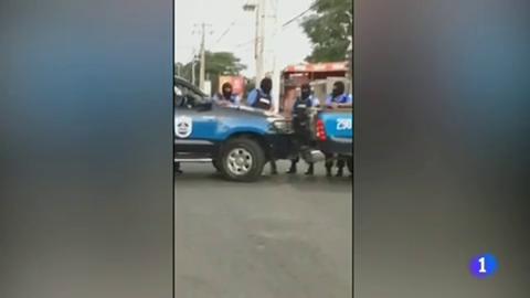 En Nicaragua, fuerzas progubernamentales han asediado una parroquia de Managua, donde se habían refugiado un grupo de estudiantes