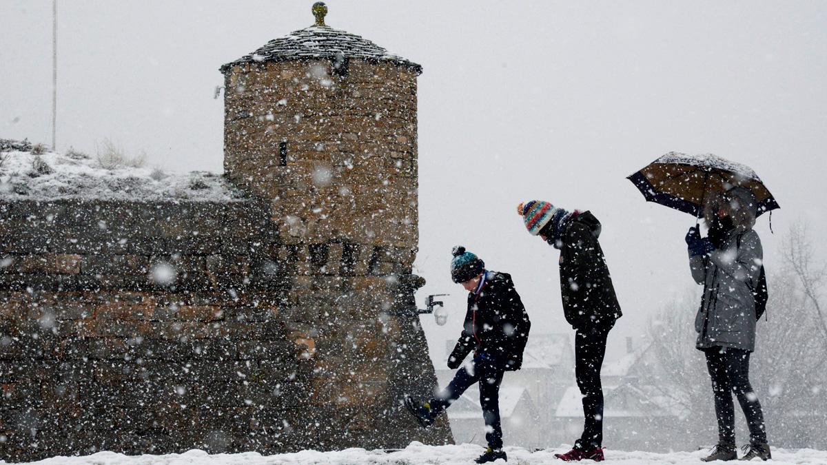 La nieve cubrirá buena parte de España