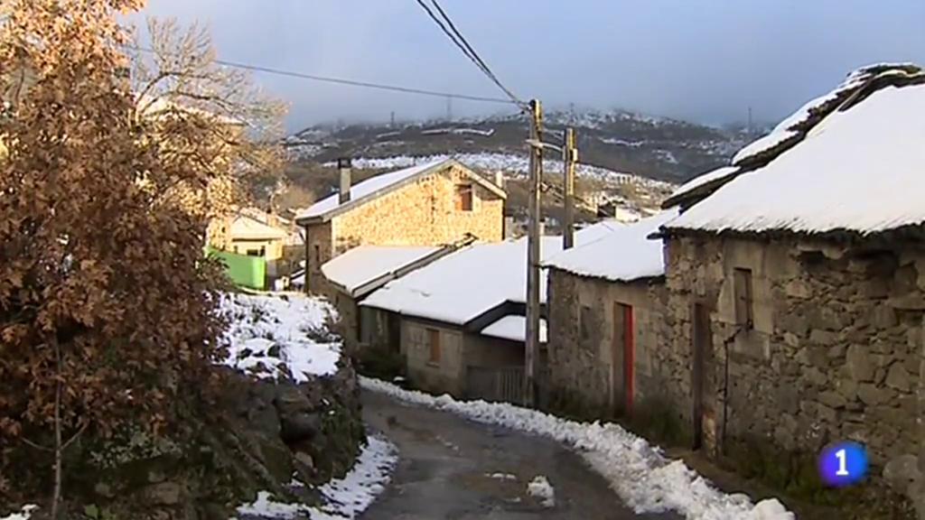 La nieve vuelve a teñir de blanco el norte, este y centro del país
