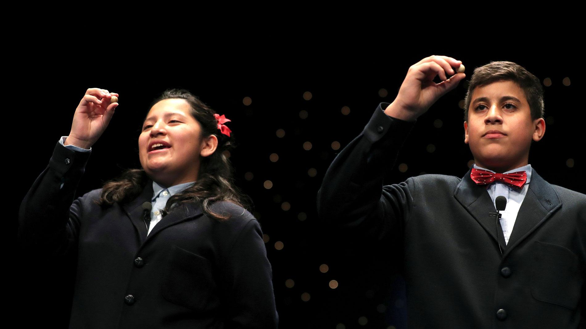"""La niña que ha cantado el Gordo: """"Creía que era un sueño y que me iba a despertar"""""""