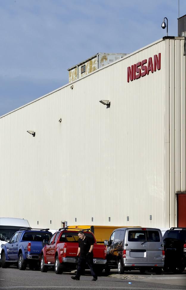 Fábrica de la multinacional Nissan en Barcelona.