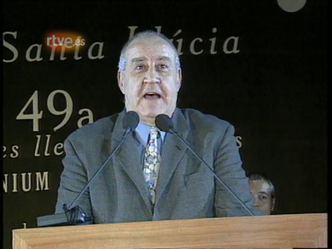 Arxiu TVE Catalunya  - Nit de Santa LLucia: Emili Teixidor, 1999