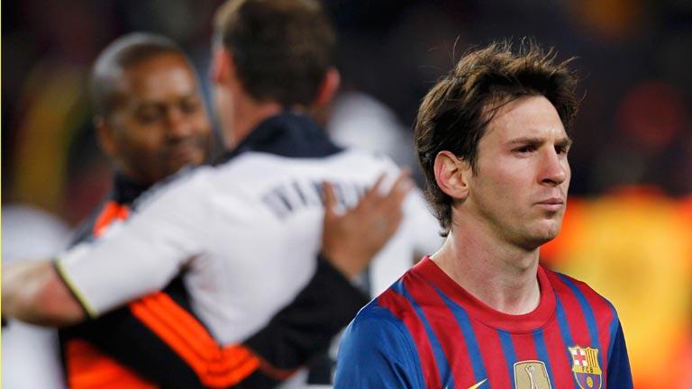 La noche negra de Messi