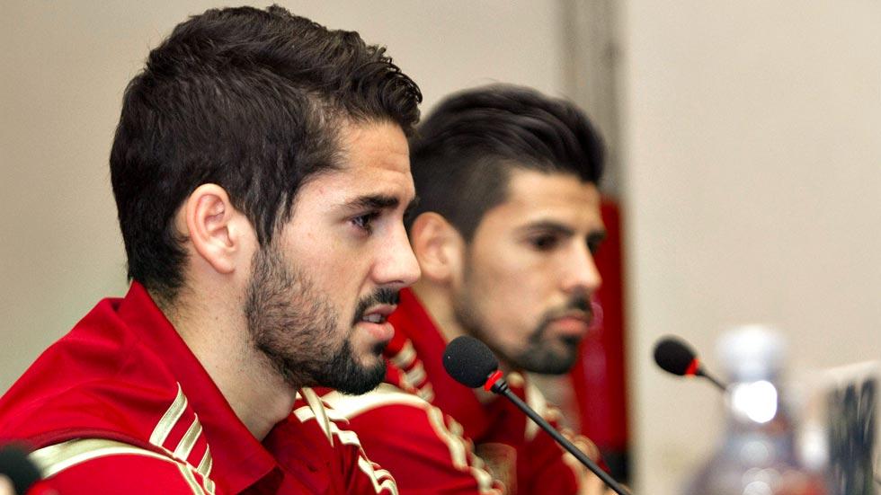 Nolito sueña con debutar frente a Alemania en Vigo