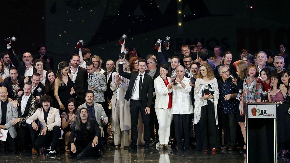 'Només són dones', 'Oskara' y 'Caída del cielo' triunfan en los Premios Max de teatro