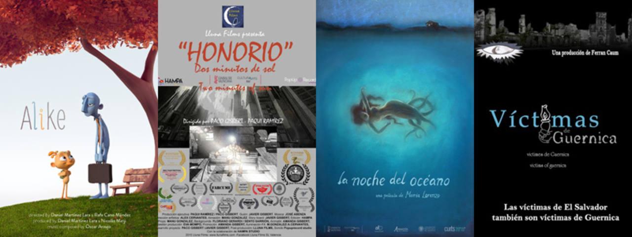 Los nominados al Goya al Mejor Cortometraje de Animación