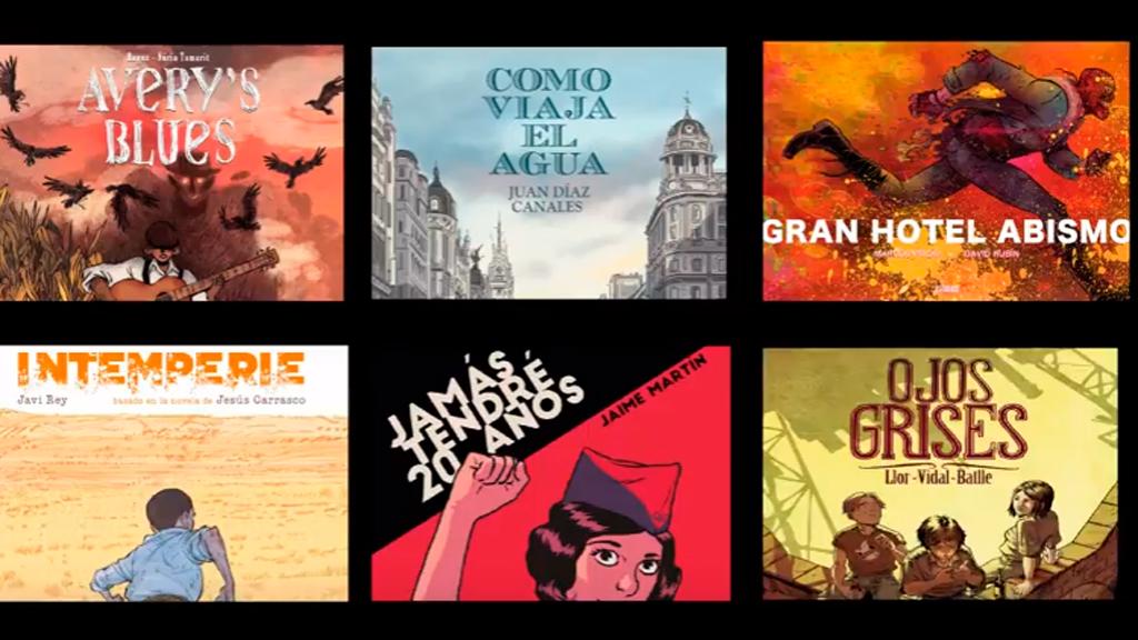 Nominados a los Premios Carlos Giménez de Héroes Comic Con Madrid 2017