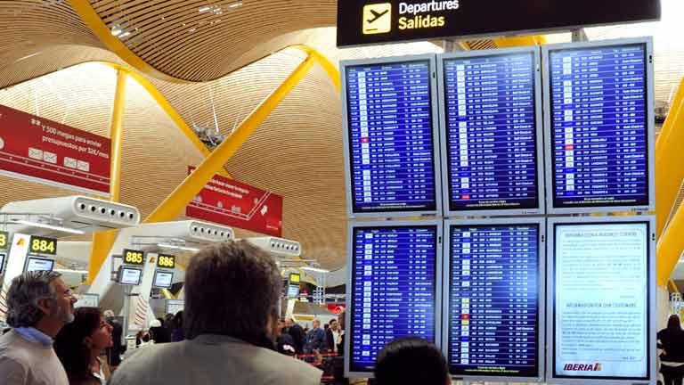 Normalidad en la huelga de pilotos de Iberia