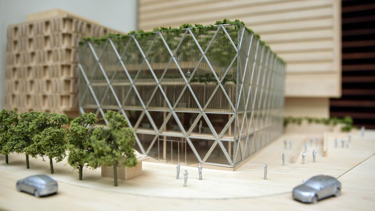 Norman Foster diseña Axis, un edificio transparente en la plaza de Colón