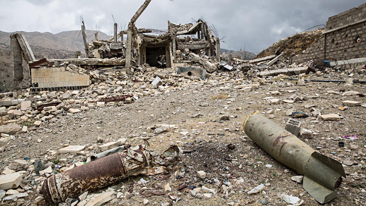 Norte de Yemen, viviendo bajo los bombardeos diarios de la coalición