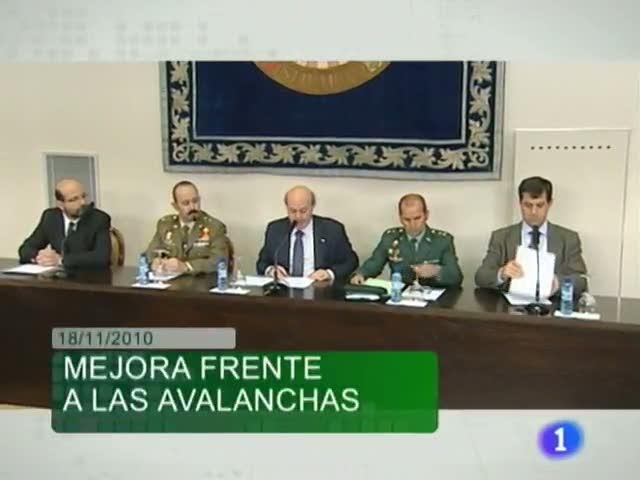 Noticias Aragón - 18/11/10