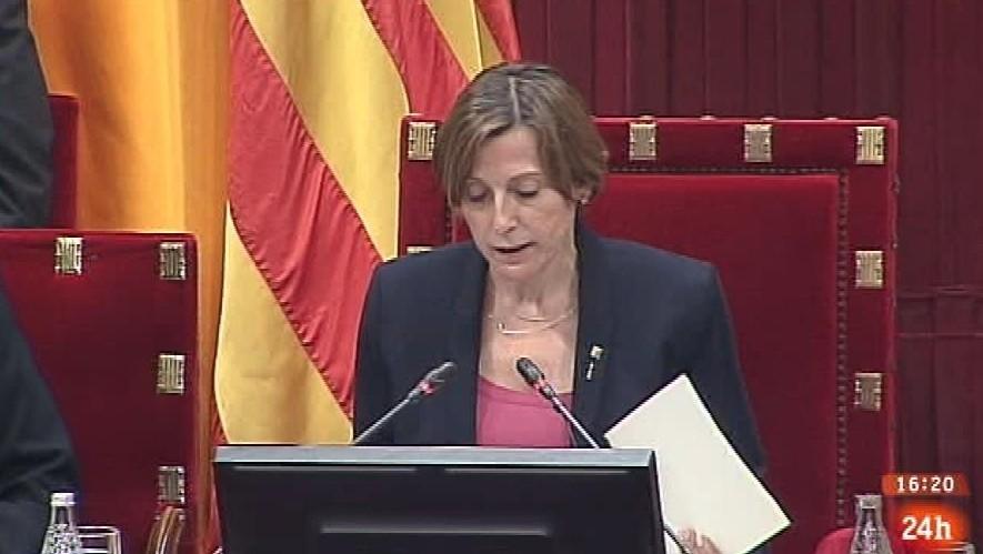 Parlamento - Otros parlamentos - Nueva resolución del Parlament - 08/10/2016