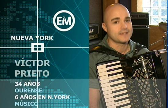 Españoles en el mundo - Nueva York - Víctor